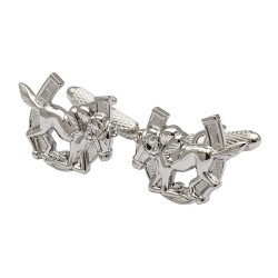 Horse and Jockey Horseshoe Cufflinks