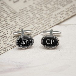 I love Cycling - Personalised Cycling Cufflinks