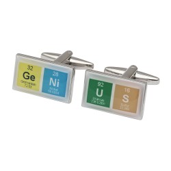 Genius Symbol Cufflinks - Ideal Gift For Boffins