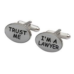 Trust me I'm A Lawyer Cufflinks