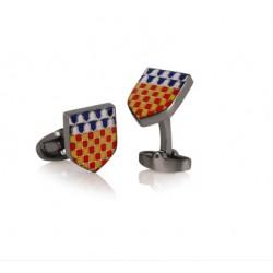Family Crest Cufflinks - Bespoke Crest Cufflinks
