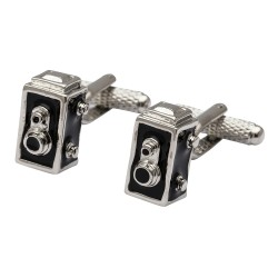 Single Lens Reflex Camera Cufflinks - Photography Cufflinks