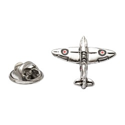 Spitfire Lapel Pin - Spitfire Lapel Badge By Onyx-Art London