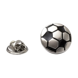 Football Lapel Pin - Football Lapel Badge By Onyx-Art London