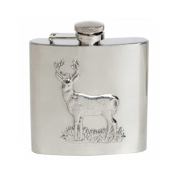 Hip Flask 6oz Stag Hip Flask