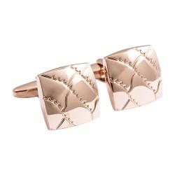 Jos Von Arx - Designer Rose Gold Modern Cufflinks