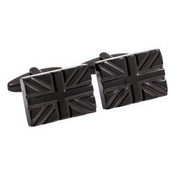 Black Union Jack Cufflinks
