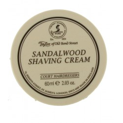 Sandalwood Shaving Cream - Taylor of Bond Street
