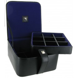 Corley Black with Purple Lining Cufflinks Accessory Case