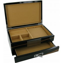 Hardwood Watch, Cufflinks and Accessories Case