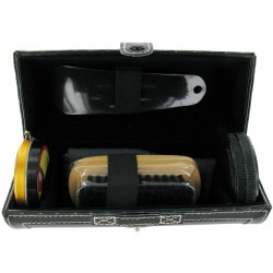 Shoeshine Kit - Shoe Care Kit in Case