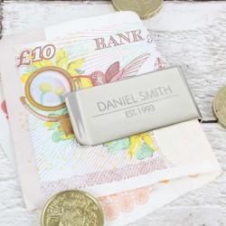 Classic Money Clip - Personalised