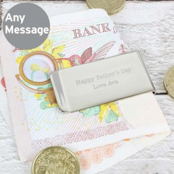 Any Message Money Clip - Personalised Any Message