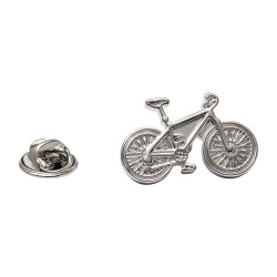 Bicycle Lapel Pin - Cycling Lapel Badge By Onyx-Art London