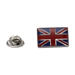 Union Jack Lapel Pin - Union Jack Lapel Badge By Onyx-Art London