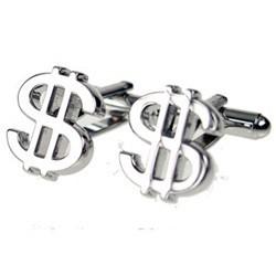 Dollar Cufflinks - Bold Style