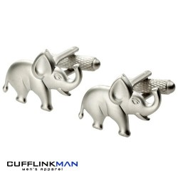 Elephant Cufflinks | Animal Cufflinks | Novelty Cufflinks