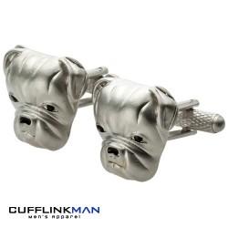 British Bulldog Cufflinks