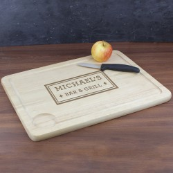 Bar & Grill Carving Board - Personalised