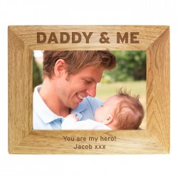 Daddy & Me Personalised Photo Frame