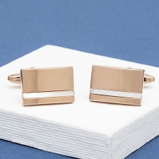 Rose Gold Cufflinks