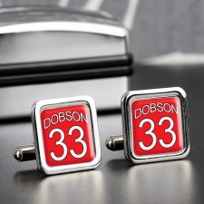 Personalised Birthday Cufflinks