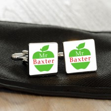 Cufflinks For Teachers