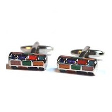 Multicolour Cufflinks