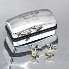 Personalised Cufflinks Gift Sets