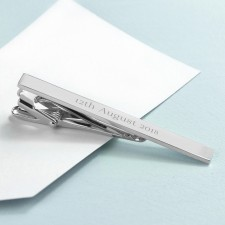 Engraved Tie Clips