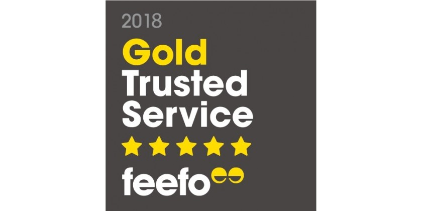 We're Proud to be a Gold Trusted Merchant Winner 2018