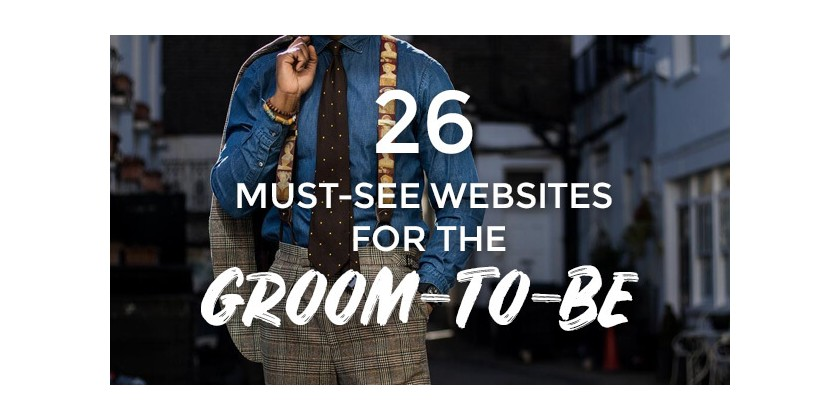 As Featured in The 26  Must See Websites For the Groom-to-Be