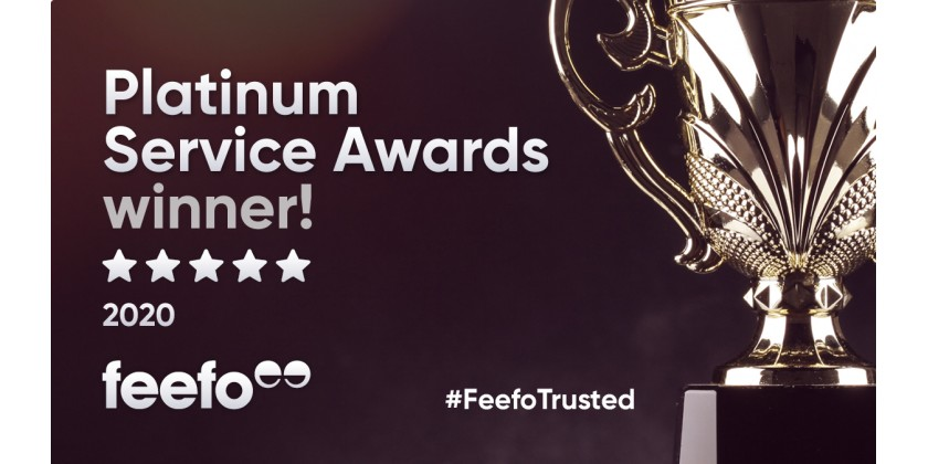 Cufflinkman one of First in UK to win New Customer Service Award